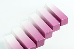 Small paper box for parfume Royalty Free Stock Photo