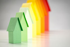 Small Paper Houses Royalty Free Stock Images