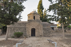 Small Paphos church in Cyprus Stock Images