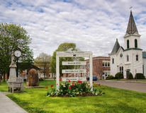 Small park Stock Photography