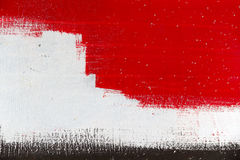 Small part of a big colourful street graffiti-background. Abstract background in grey,black,white and red - part of a big colourful street graffiti Royalty Free Stock Photography