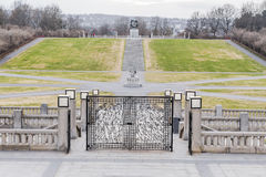 A small part of the Frogner Park Stock Images