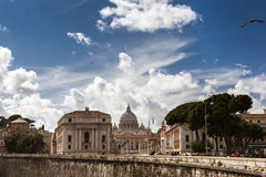 Small part of Rome Stock Image