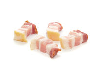 Small Parts Bacon Slices Stock Photography