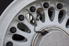 Wheel details Royalty Free Stock Images