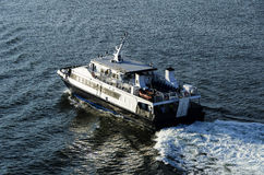 Small passenger ferries Stock Images
