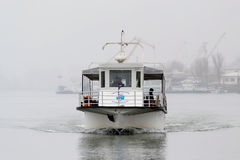 Small passenger ship Stock Photography