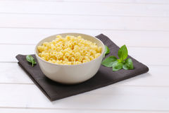 Small pasta shells Royalty Free Stock Image