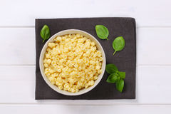 Small pasta shells Royalty Free Stock Photo
