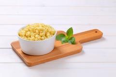 Small pasta shells Stock Photo