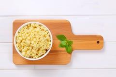 Small pasta shells Royalty Free Stock Photography