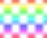 Small Pastel gradient colors Polka dots on White, Seamless Stock Photos