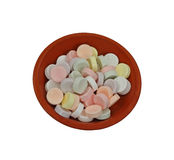 Small Pastel Hard Candies Royalty Free Stock Photos
