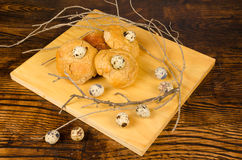 Small pastries royalty free stock photography