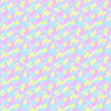 Small pattern with short hand drawn strokes. Seamless texture in impressionism style. Stock Photos
