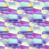 Small pattern with short hand drawn strokes. Seamless texture in impressionism style  Stock Image