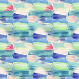 Small pattern with short hand drawn strokes. Seamless texture in impressionism style for web, print, fabric, textile, website, inv Stock Images