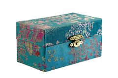 Small patterned box Royalty Free Stock Images