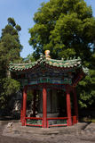 Small Pavilion in Beihai Park, Beijing. A small pavillion in Beihia Park Royalty Free Stock Photos