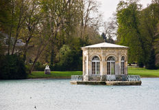 Small pavilion at fontainebleau palace Stock Photos