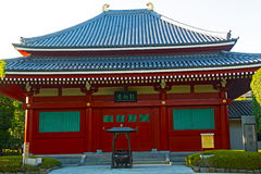Small pavilion in Senso-ji Temple in Asakusa Tokyo, Japan. Senso–ji Temple is Tokyo's oldest temple and remaining an important center of worship stock images