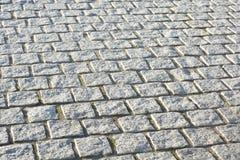 Small Paving blocks. An abstract photo of paving blocks Stock Photos