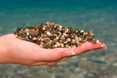 Small pebble Royalty Free Stock Photo