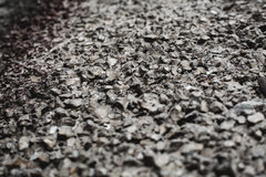 Small pebble rock background Royalty Free Stock Photography