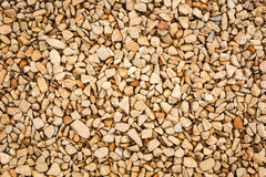 Small pebble rock background Royalty Free Stock Photos