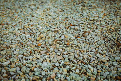 Small pebble rock background Royalty Free Stock Image