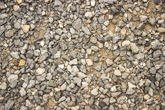 Small pebble rock background texture. Retro, vintage style look Royalty Free Stock Image
