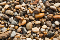 Small pebble stones Royalty Free Stock Images