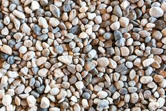 Small pebble stones for texture royalty free stock photography