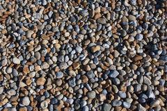 Small pebbles on Hastings beach Royalty Free Stock Photos