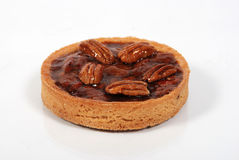 Small pecans cake Royalty Free Stock Images