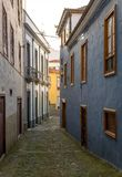 Small pedestrian street of Orotava, Tenerife. Stock Photos