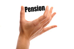 Small pension Royalty Free Stock Photo