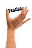 Small pension Stock Photos