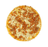 Small pepperoni pizza Stock Images