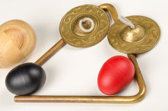 Small percussion instruments Royalty Free Stock Photography