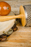 Small percussion instruments Royalty Free Stock Photo