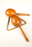 Small percussion instruments Stock Images