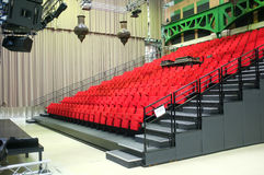 Small performance venue Royalty Free Stock Image