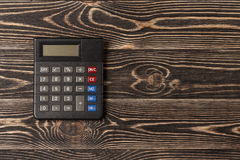 Small personal calculator Royalty Free Stock Images