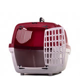 Small pet travel cage Stock Images