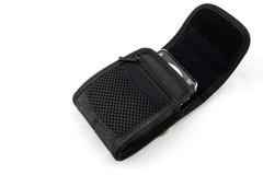 Small photo camera in a case Stock Image