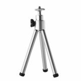 Small photo tripod isolated over white Stock Images
