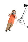 The small photographer Stock Images