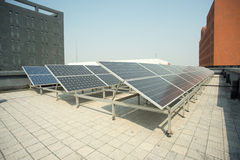 Small photovoltaic power plants Royalty Free Stock Image