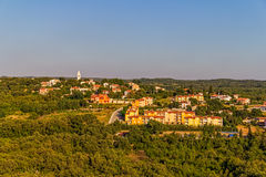 Small Istrian village Stock Photos